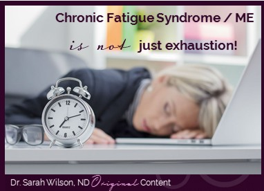 Chronic fatigue syndrome is about more then exhaustion