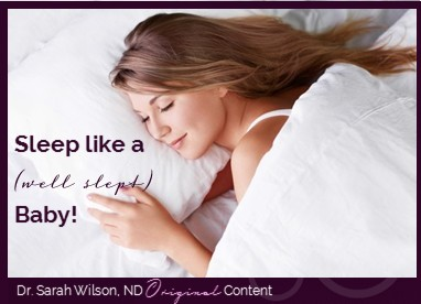 Learn how to sleep better here!