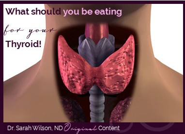 Nutrients that support the thyroid