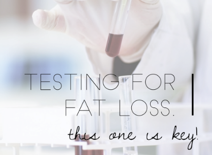 Insulin and Glucose testing for Fat Loss
