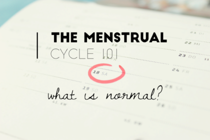 Menstrual cycle 101 - What is a normal period?