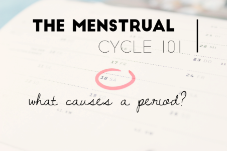 What causes a period and period cramps?