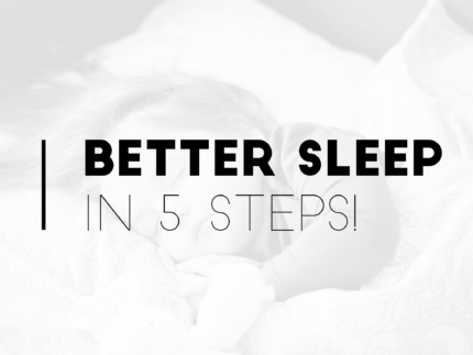 Better sleep in 5 steps